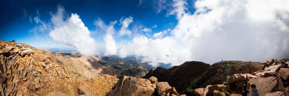Panorama of Colorado from Pikes Peak. Our RV road trip to Colorado | J.B. TOLS