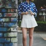 Korean Street Fashion Editorial The Tennis Skirt Seoul Street Fashion Week