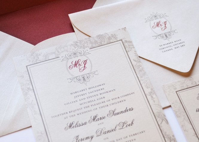 Melissa Jeremy S Wedding Invitations