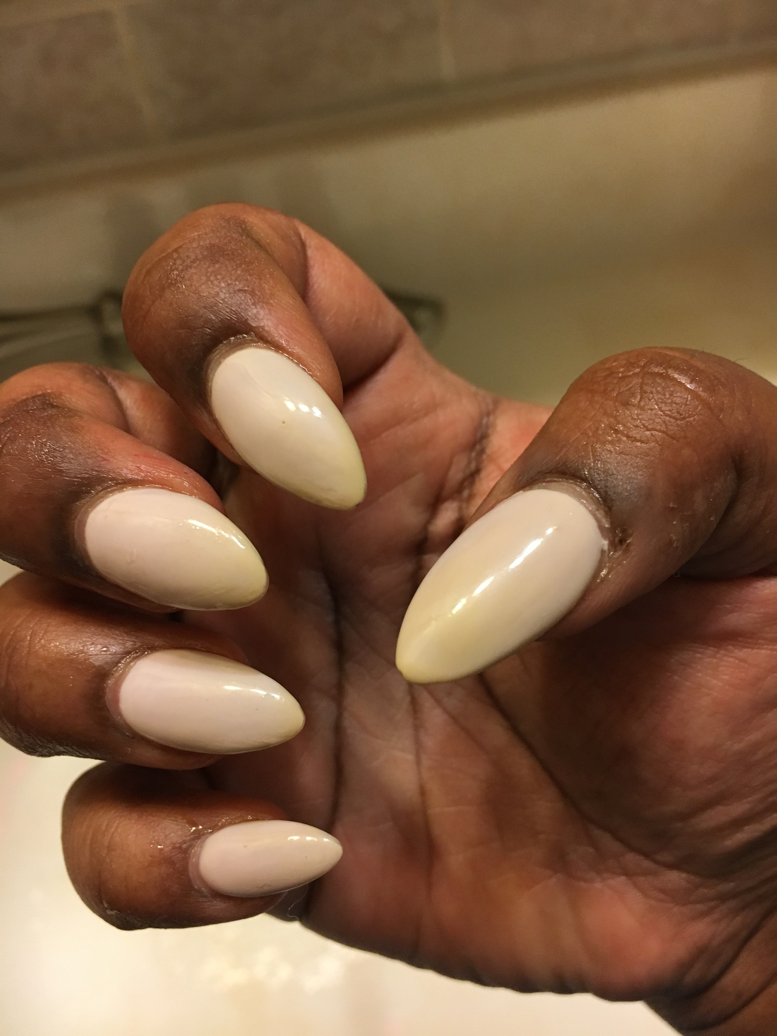 How To Clean Stained Gel Nails : clean, stained, nails, CurryStained, Nails, MissKhanMPLS