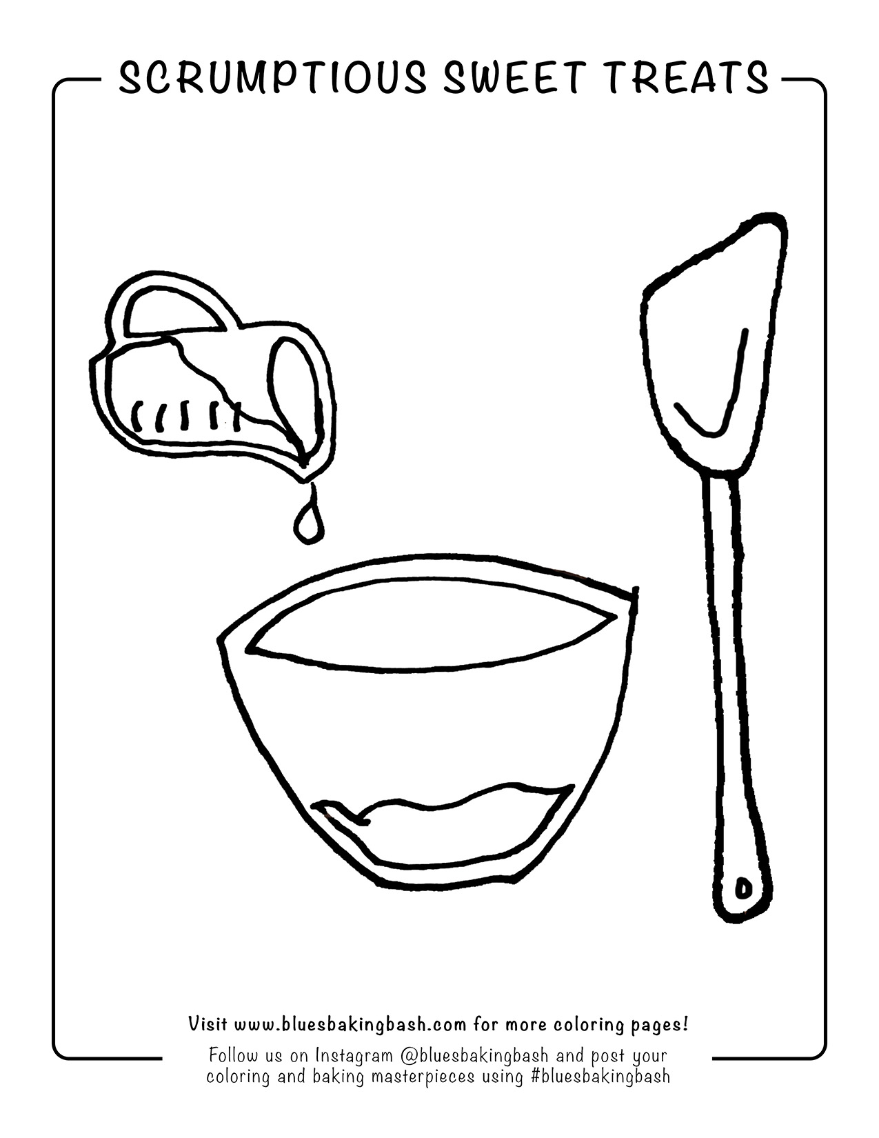 Baking Coloring Pages : baking, coloring, pages, Coloring, Pages, Blue's, Baking