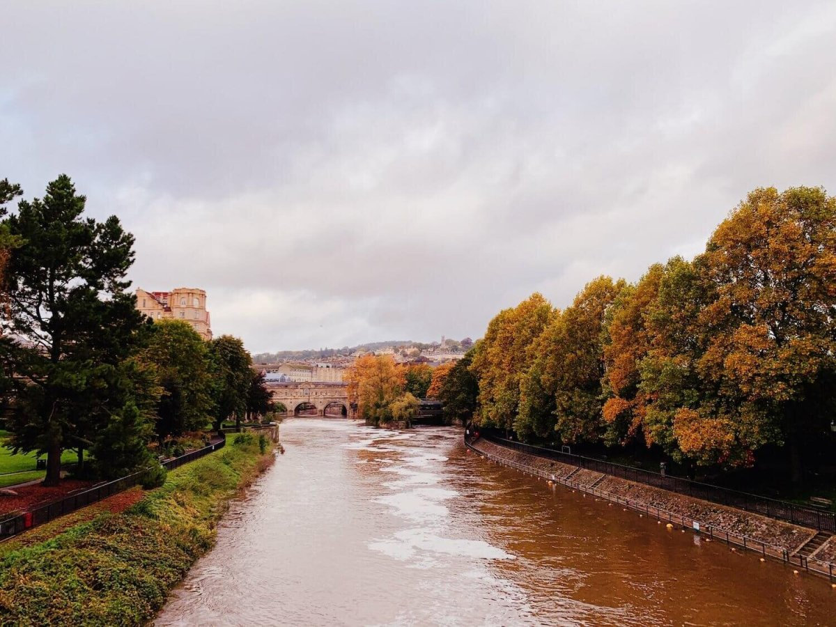 This is Bath in the fall. I'm convinced, with a million other people, that it is the most beautiful city in the world and I am extremely jealous of those who live here.