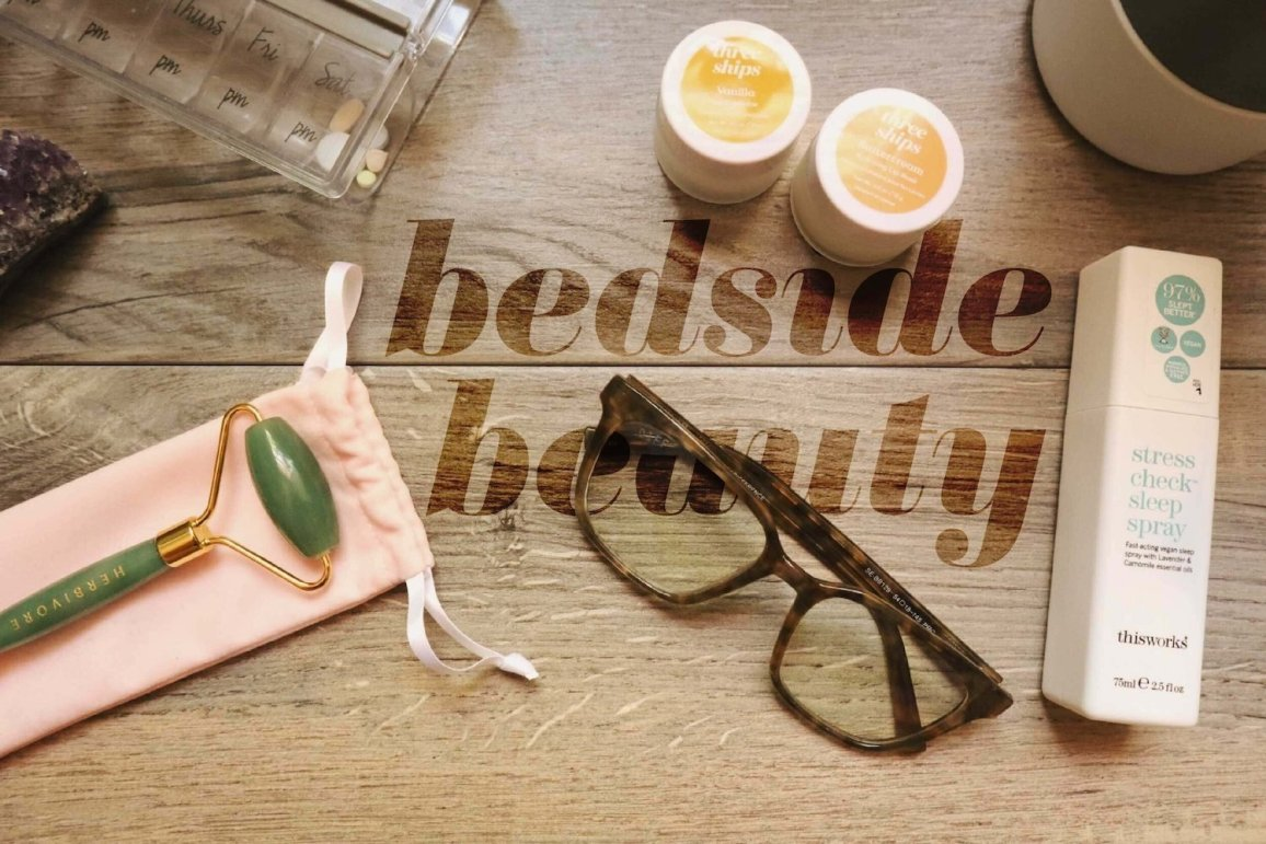 Bedside beauty routines for improved sleep