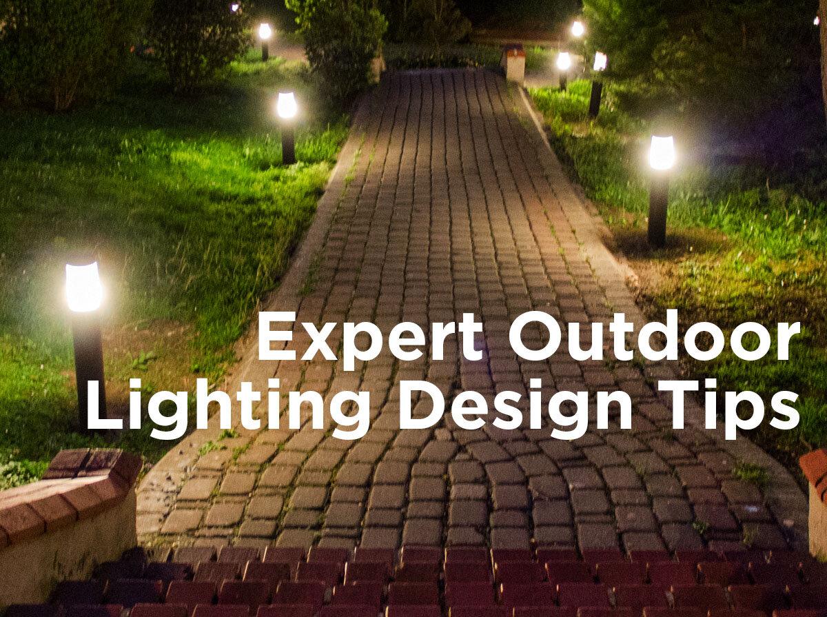 expert outdoor lighting design tips