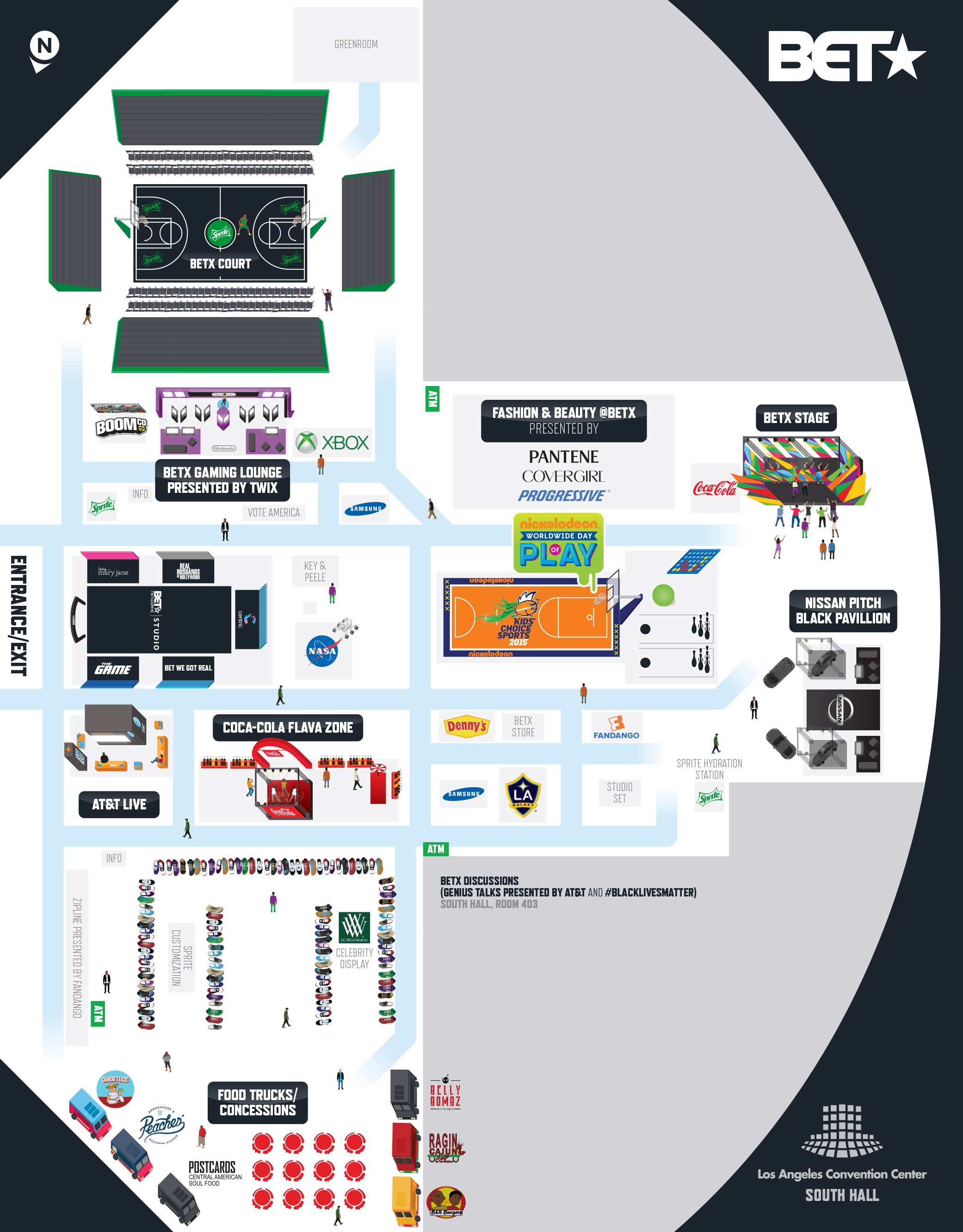 Los Angeles Convention Center Maps : angeles, convention, center, Plans, Cartifact
