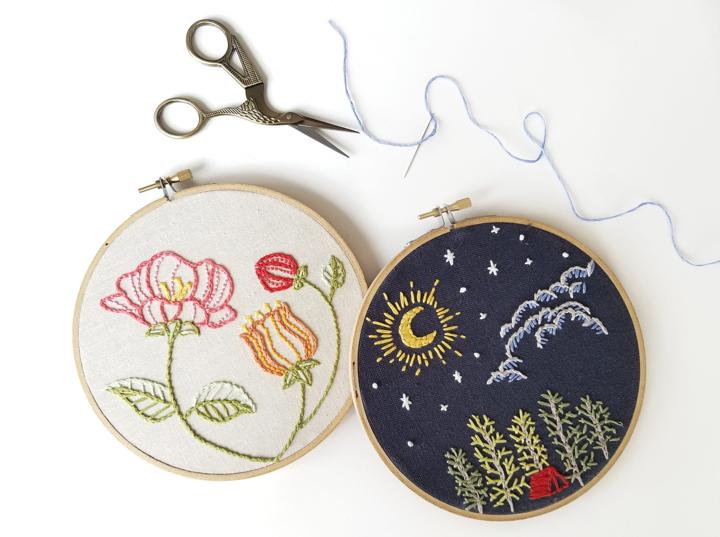 beginner s embroidery class