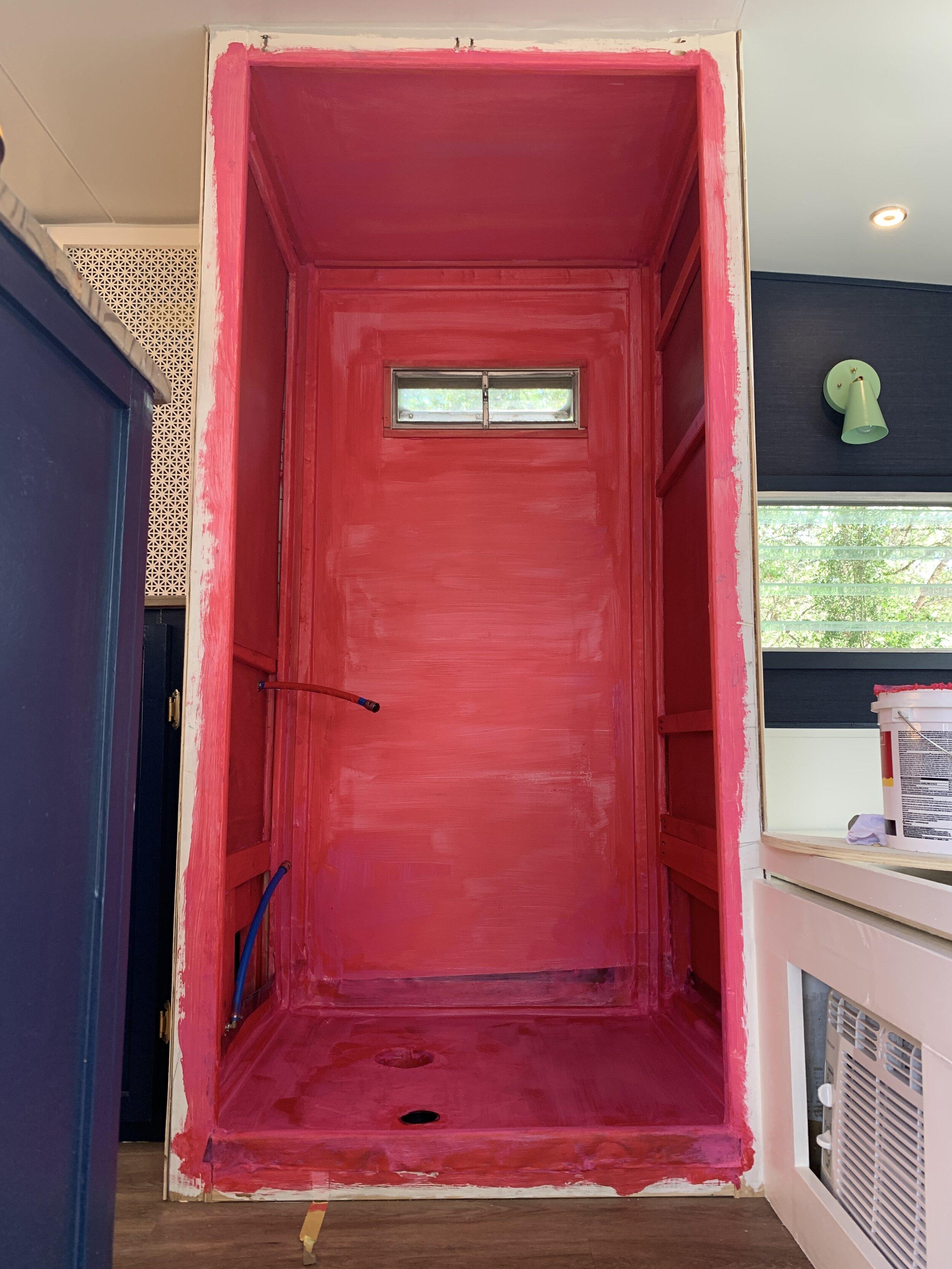 building a custom rv shower pan part 2