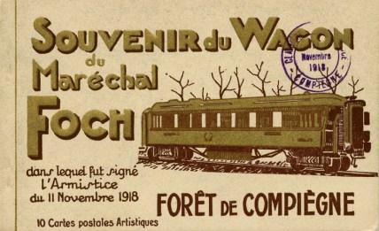 Cartolina postale dell'armistizio del 1918.