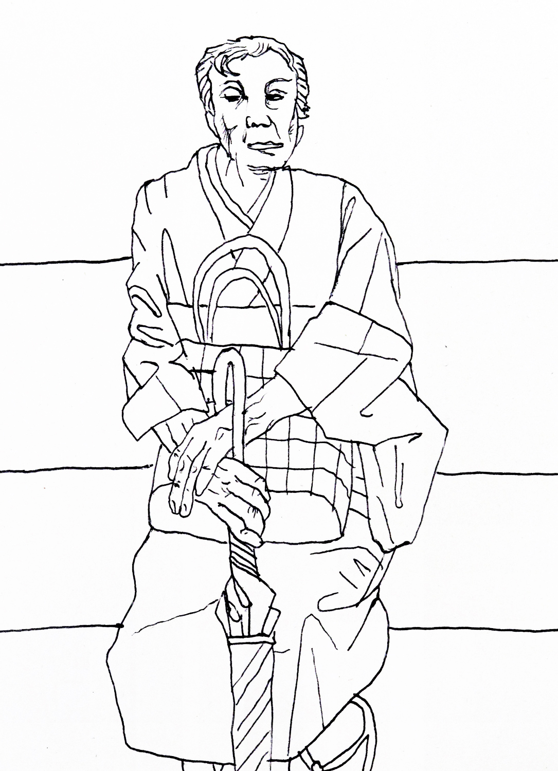 Drawings and sketches made in Japan — Carl Randall