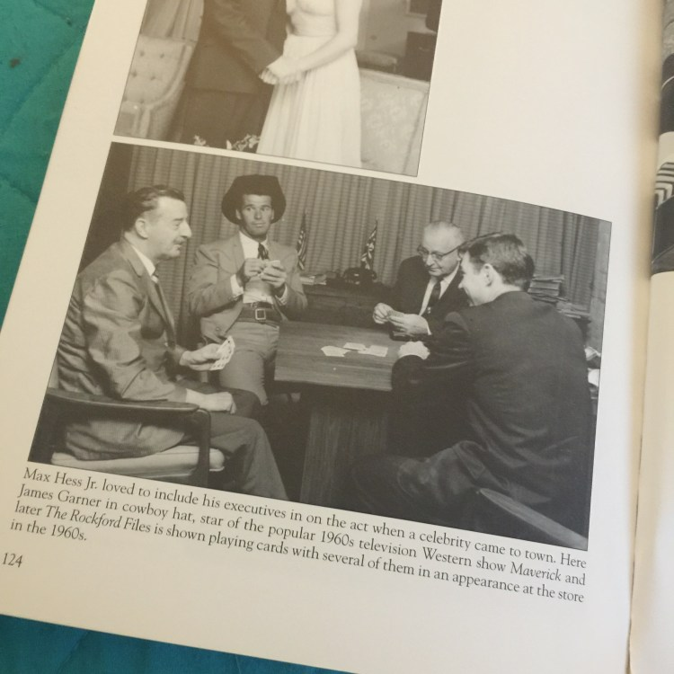 The photo in the book Images of America Hess's Department Store