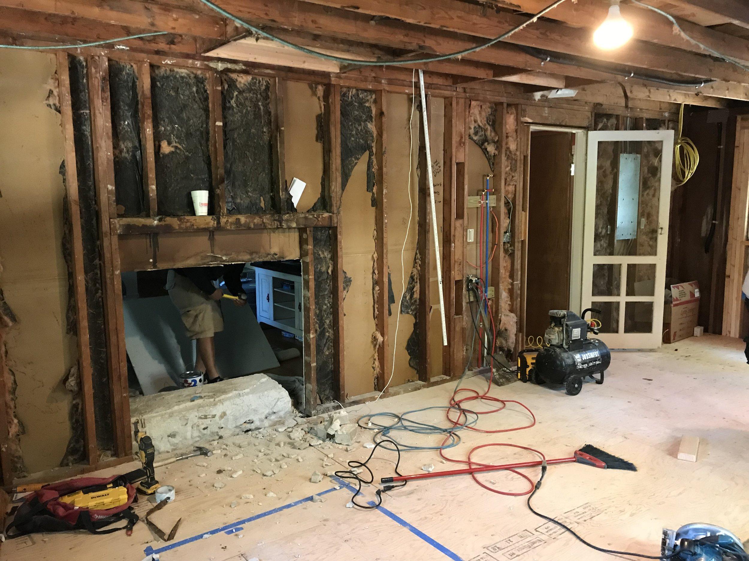 kitchen remodel garage conversion in east lyme ct [ 2500 x 1875 Pixel ]