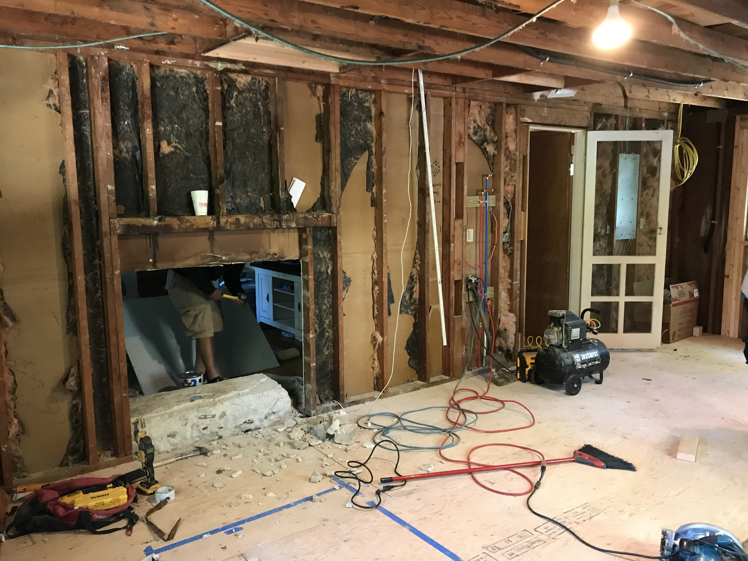 hight resolution of kitchen remodel garage conversion in east lyme ct