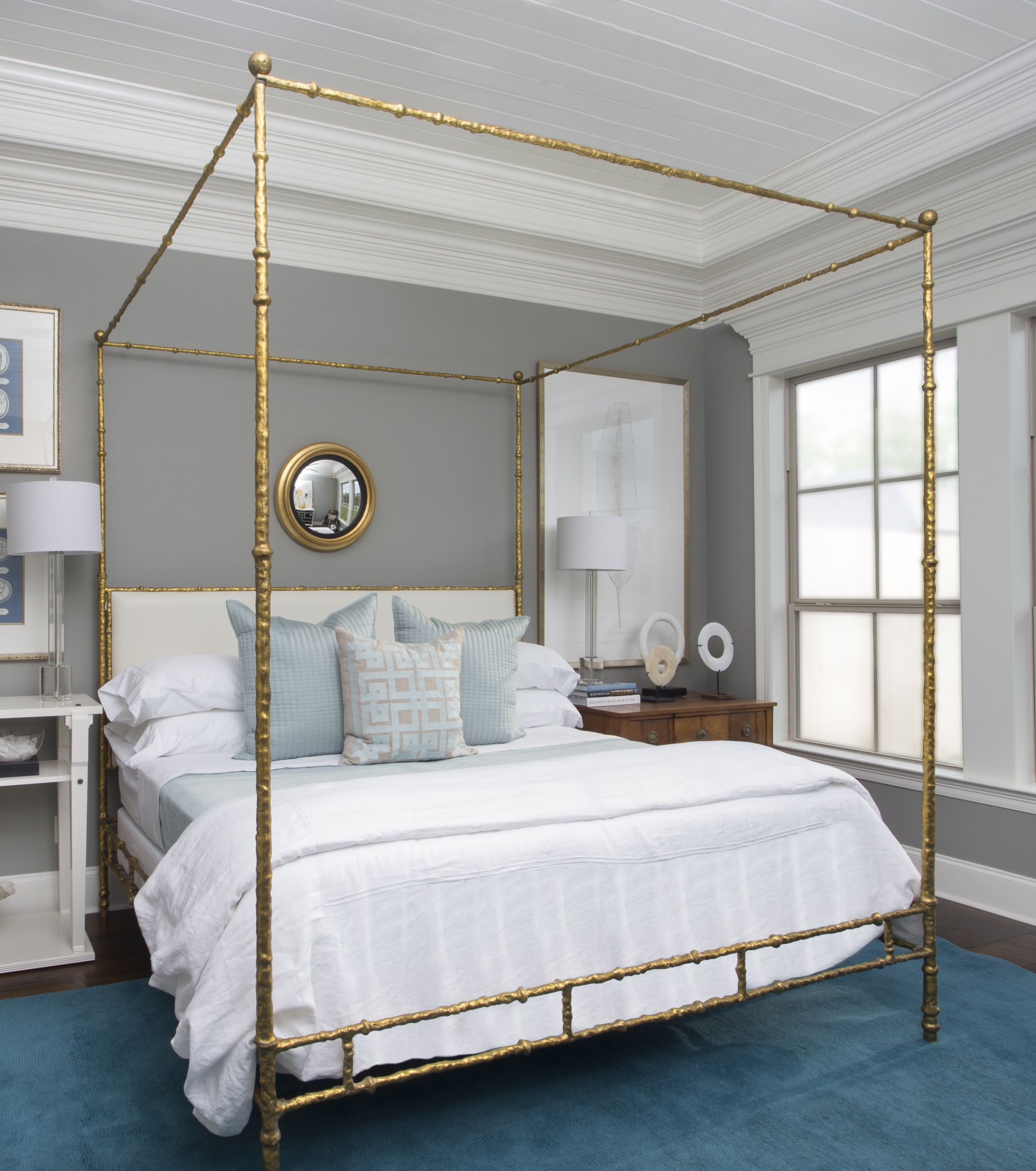 king sized bed by oly ty larkins interiors