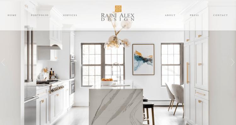 Website Design For Interior Designers Architects Builders