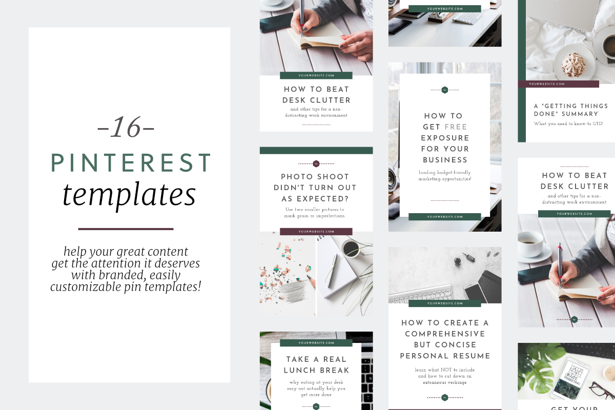 Free Pinterest Templates for Canva — Doorpost Designs