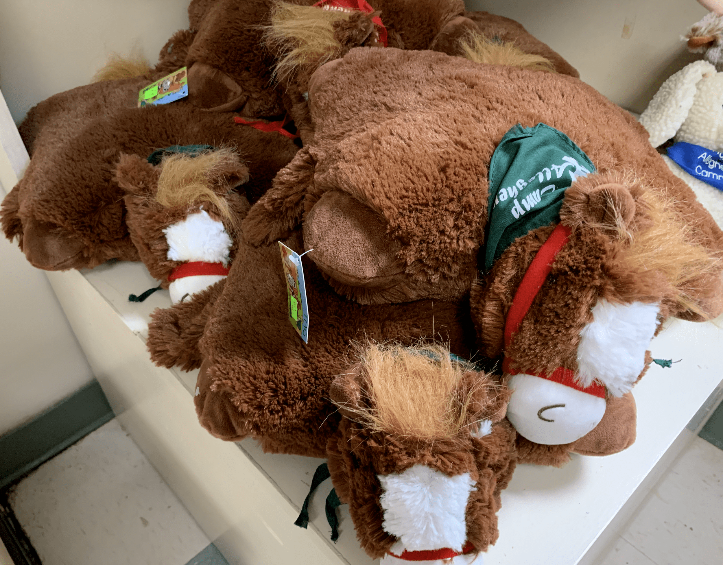 camp allegheny camp allegheny stuffed horse pillow pet retreat and christian summer camp