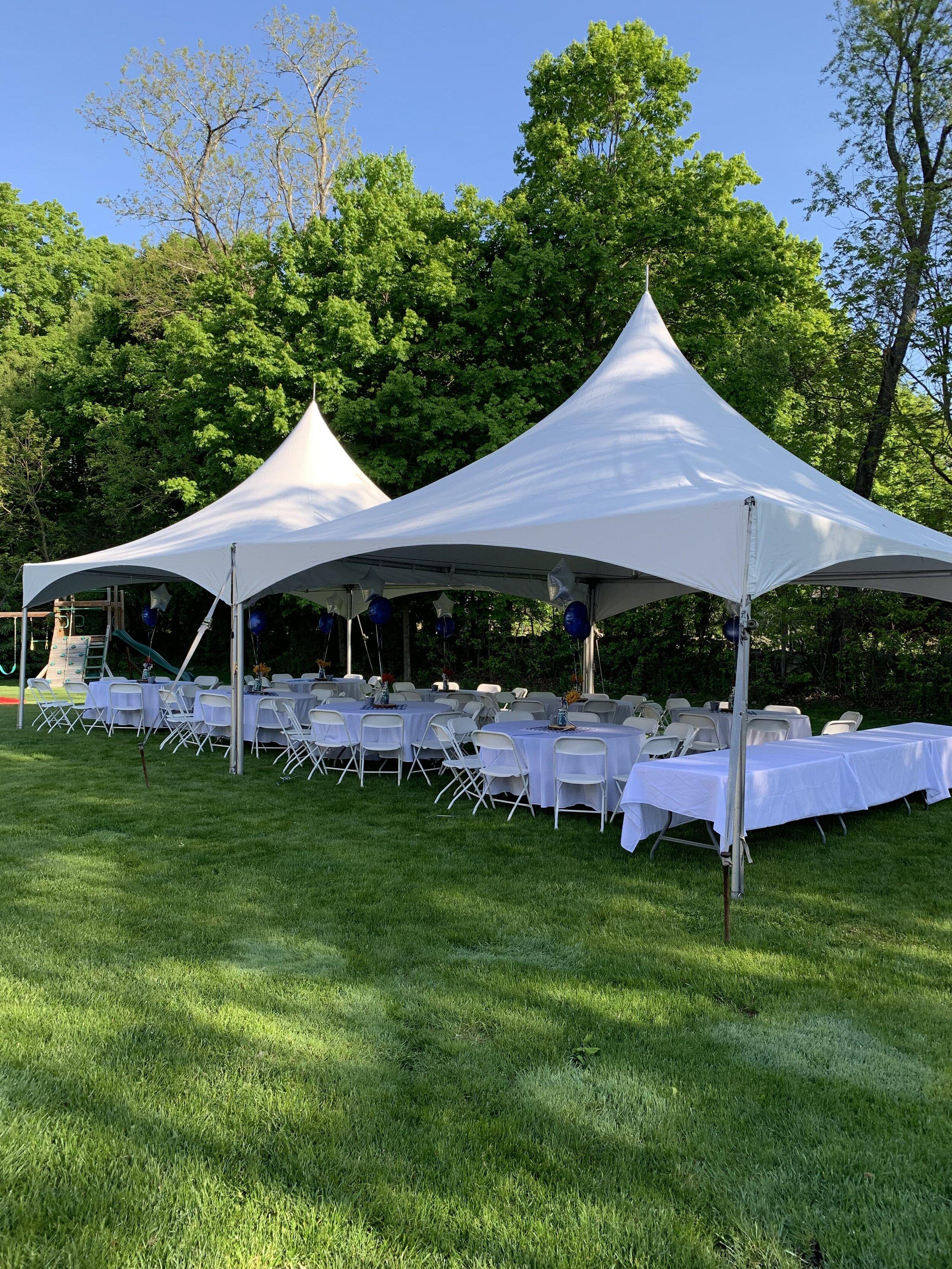 Backyard Tent Rental Bridgewater Tent Rentals South Shore Ma