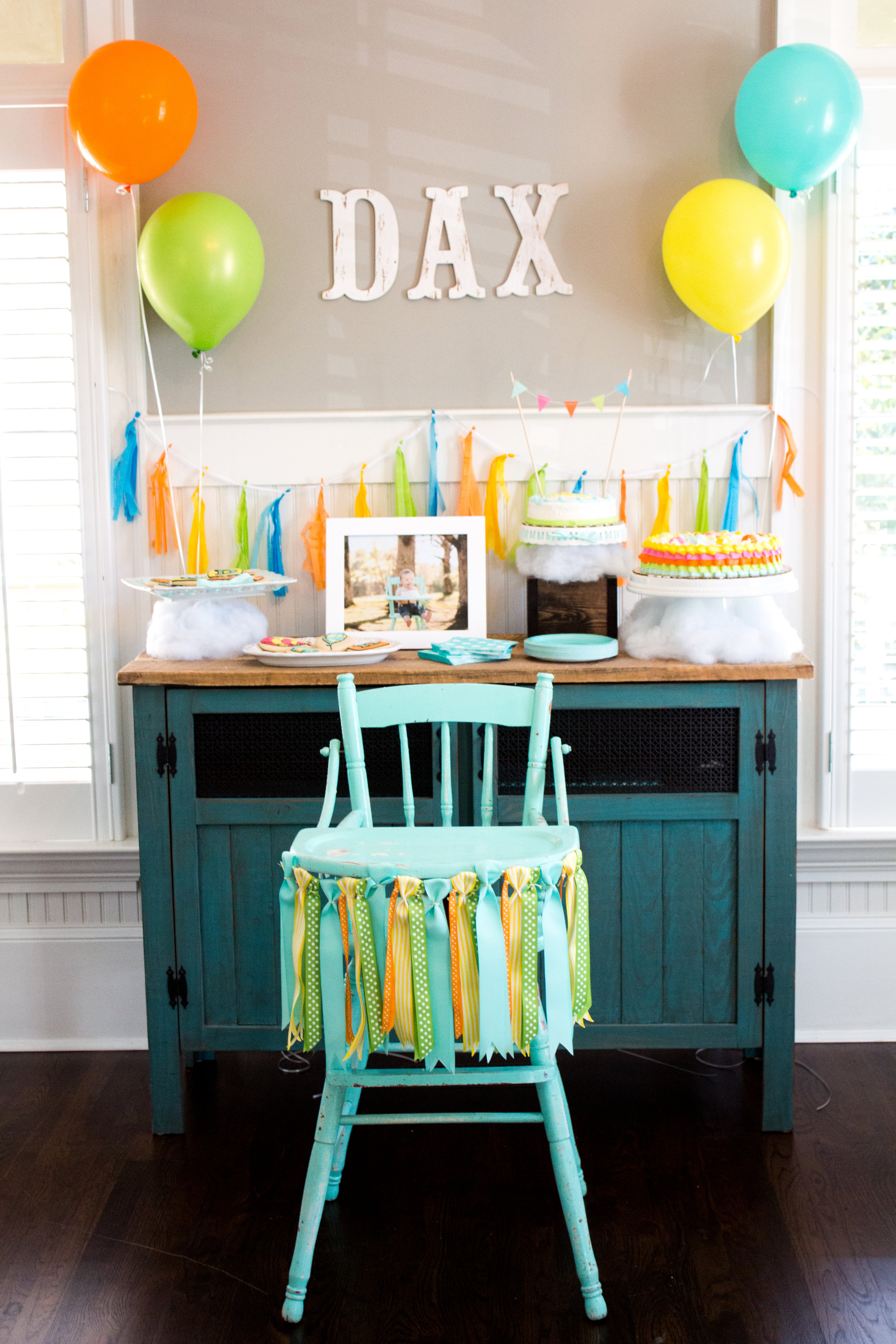 dr seuss first birthday free party