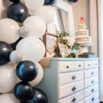 Navy Gold Baby Shower Sweetwood Creative Co Atlanta Wedding Planner Upscale Event Design