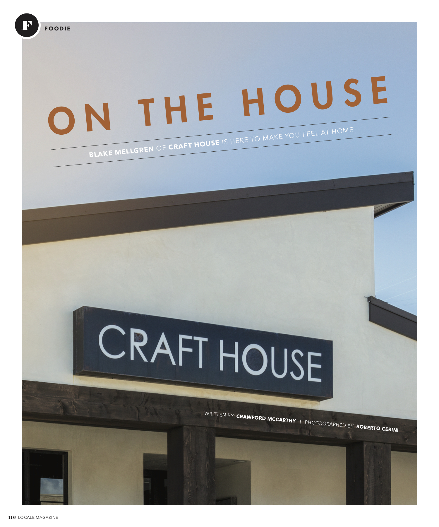 On The House Chef Blake Mellgren Of Craft House