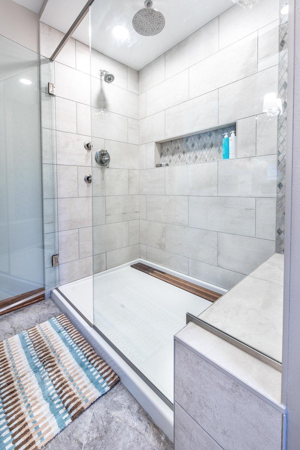 fiberglass prefab shower stalls vs