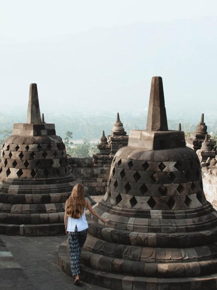 Borobudur Sunrise Tour In Yogyakarta Indonesia Wolves Waterfalls