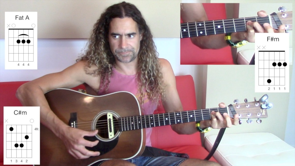 Evil Barre Chords on Acoustic Guitar: F#m, C#m — Rocinante Studios