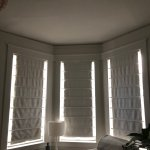 How To Hang Blackout Curtains On A Bay Window Eliza Kern Design