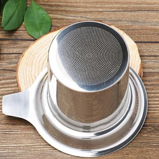 filtre a the en acier inoxydable callysthe
