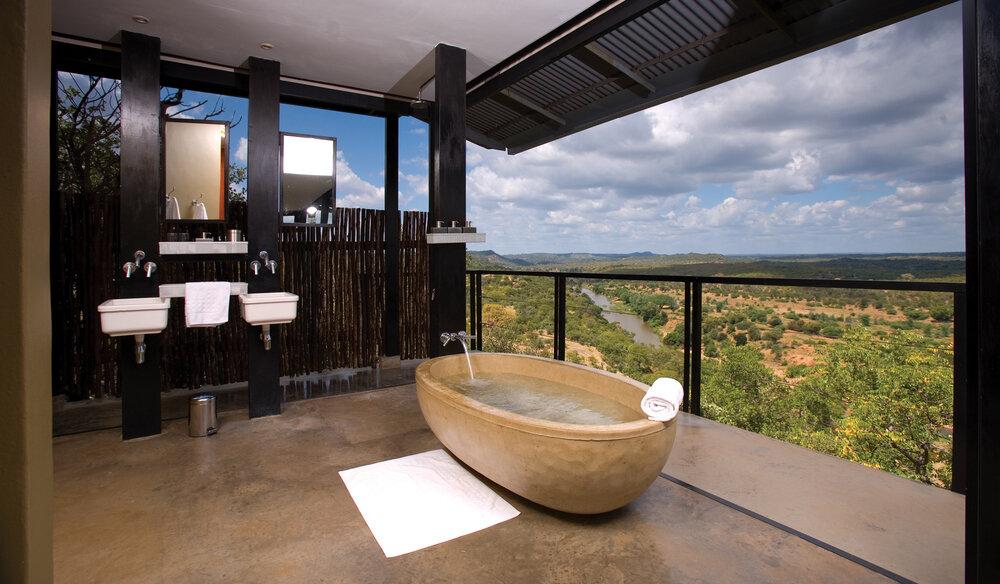Salle De Bain Romantique Safaris En Afrique