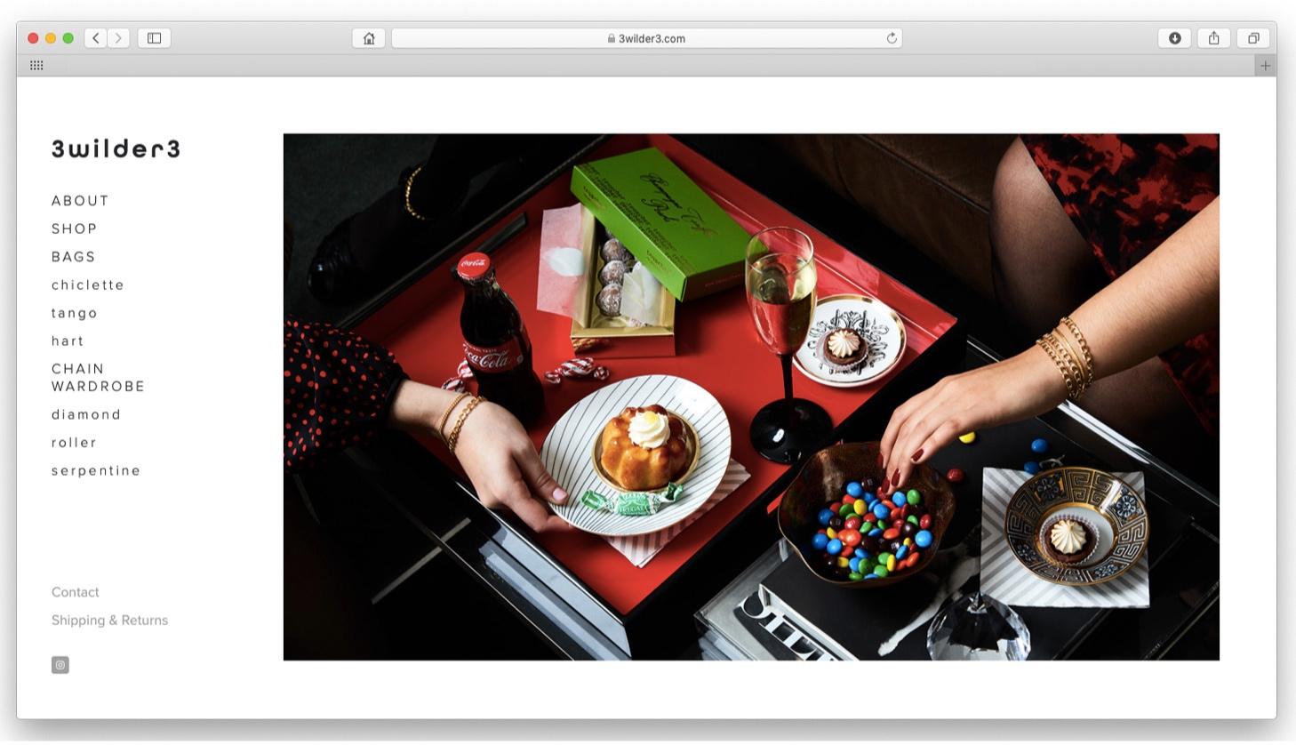 website design lace photo
