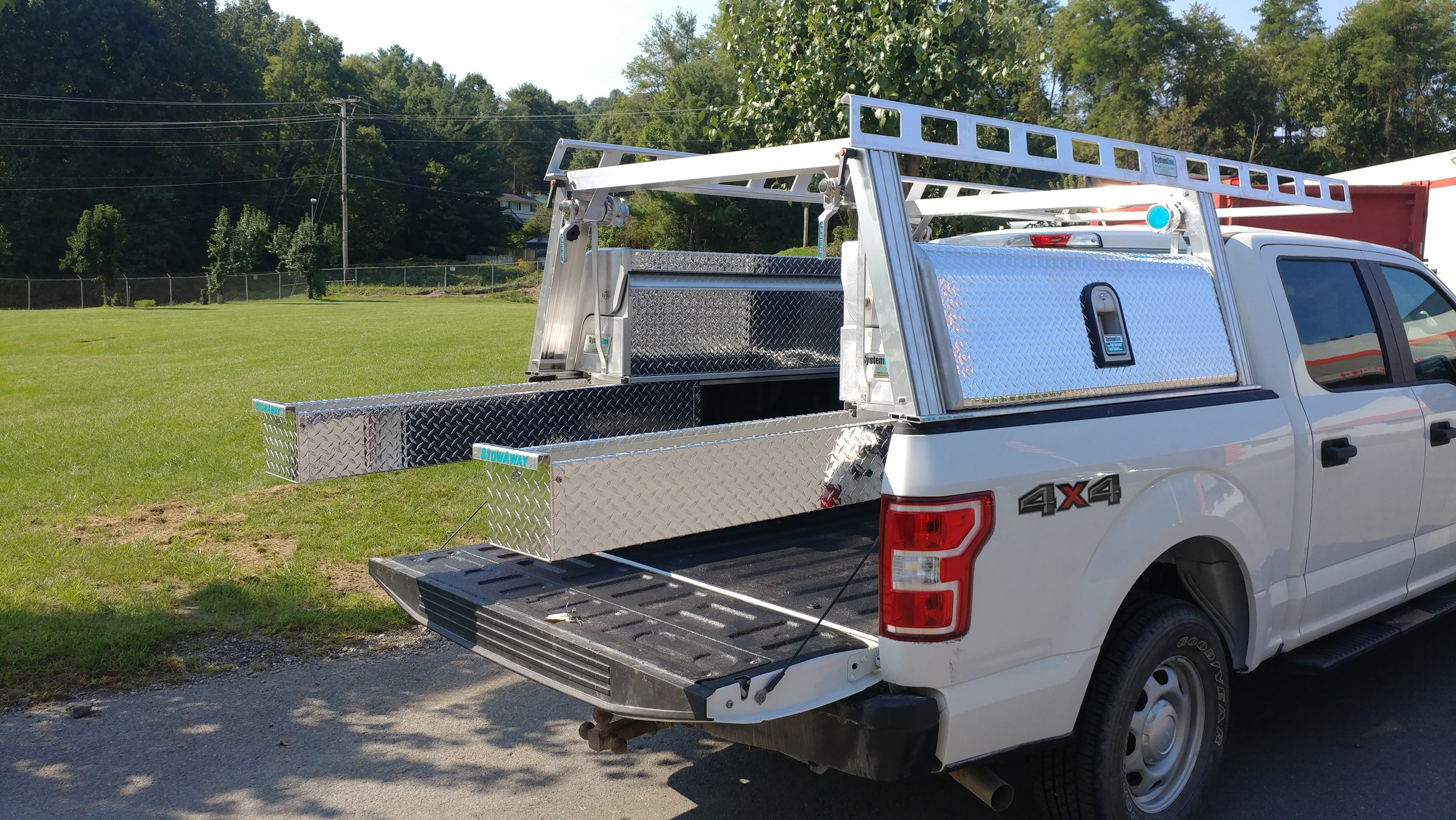 systemone ladder rack tool boxes j