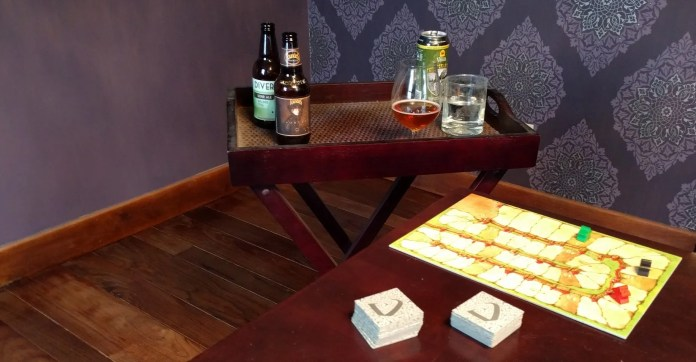 Side table for drinks