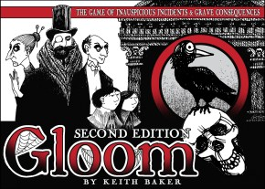 Gloom board game box image