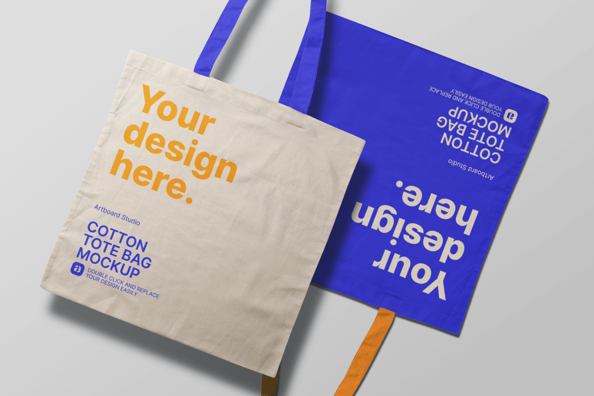 Pikbest has 49137 mockup bag design images templates for free download. Free Canvas Tote Bag Mockup Template