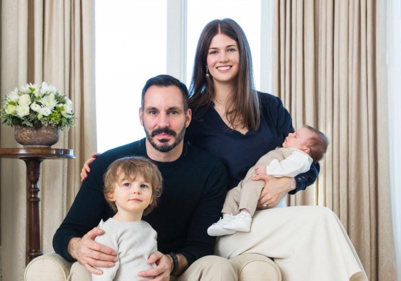 Glückliches Familienleben: Salwa mit Mann Rahim und den Söhnen Ifran (li.) und Sinan.   Foto: The Ismaili