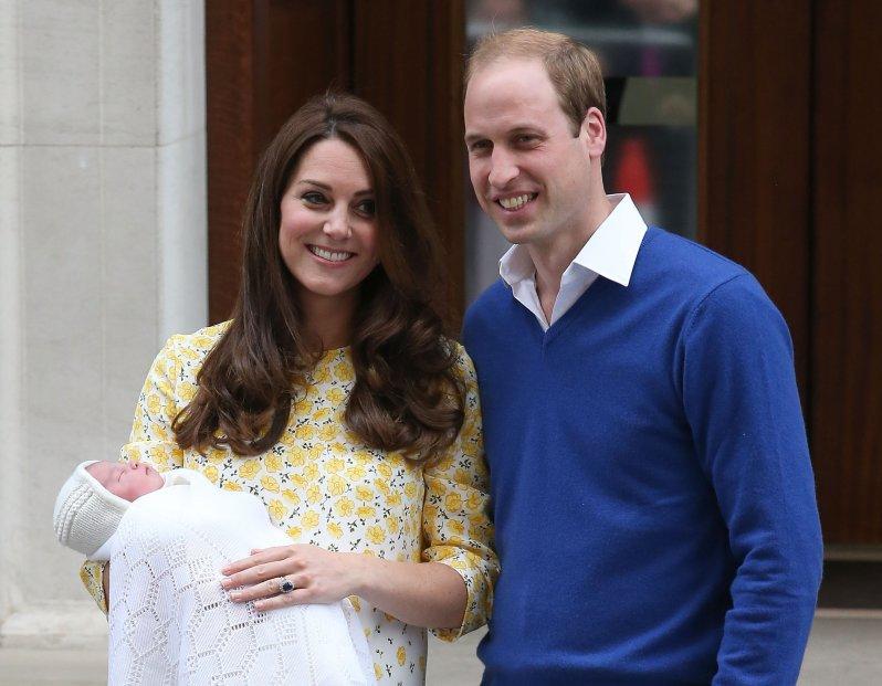 Die zuckersüße Charlotte wurde am 2. Mai 2015 in London geboren   Foto: Getty Images