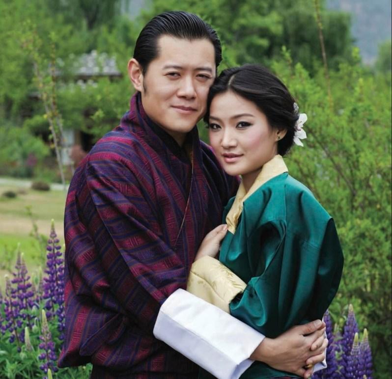 Königspaar von Bhutan