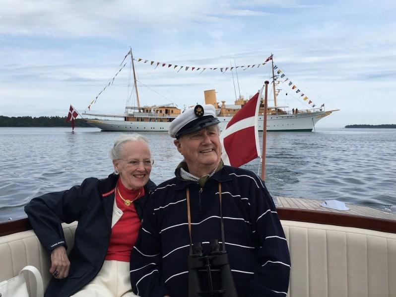 Königin Margrethe kümmert sich jetzt besonders liebevoll um ihren Mann  Foto: Det danske Kongehus