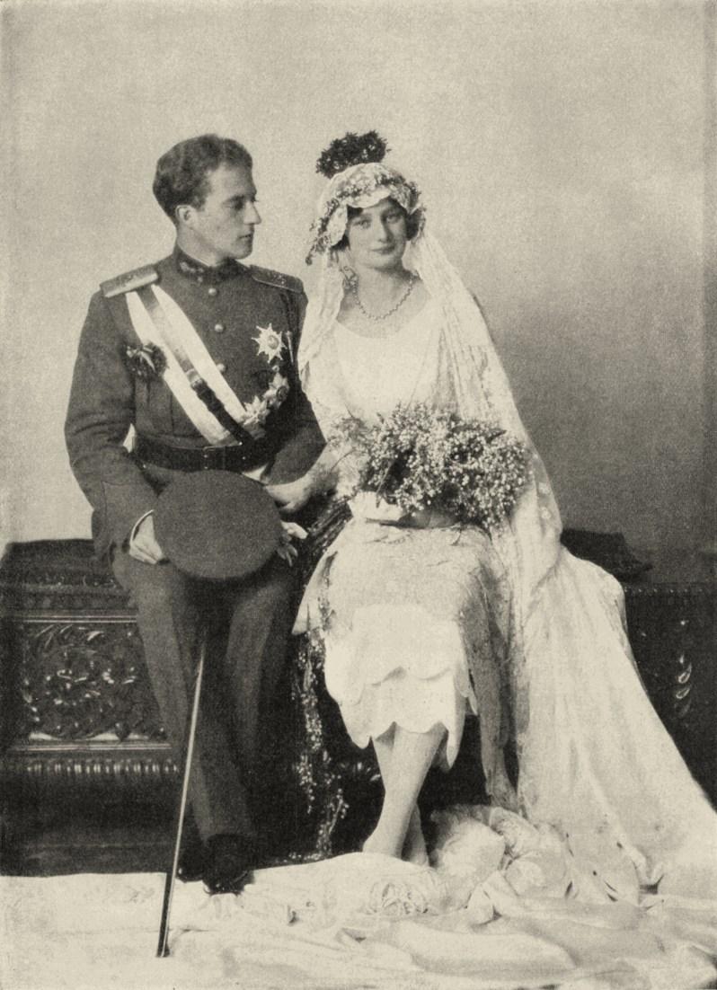 Albert von Belgien und Prinzessin Astrid von Schweden heirateten aus Liebe Foto:Svenska Dagbladets Årsbok 1926, Gemeinfrei