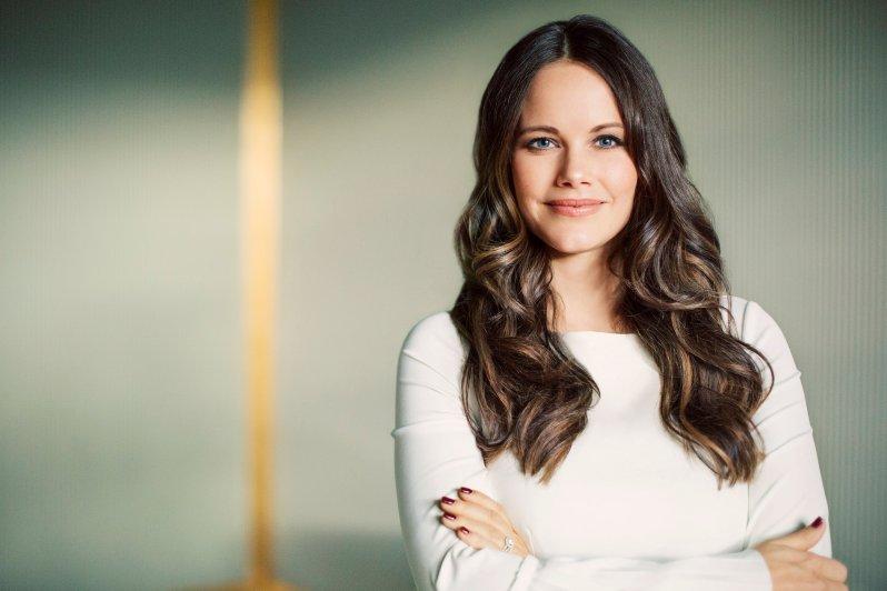 Der schwedische Königshof hat heute dieses neue Foto von Prinzessin Sofia veröffentlicht    Foto: Kungahuset, Erika Gerdemark