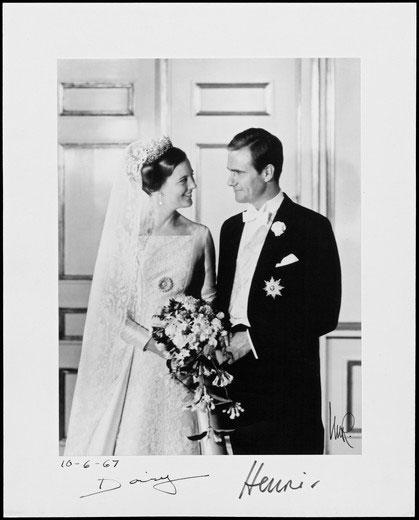 Margrethe und Henrik waren viele Jahre glücklich verheiratet.    Foto: Danish Royal House