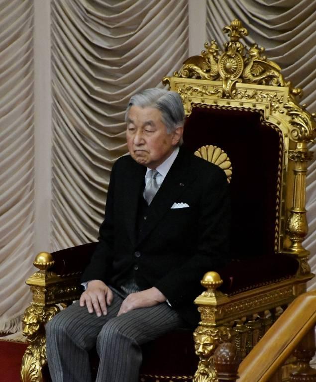 Kaiser Akihito muss in seinem Leben viele Entbehrungen in Kauf nehmen.   Foto:imago/Kyodo News
