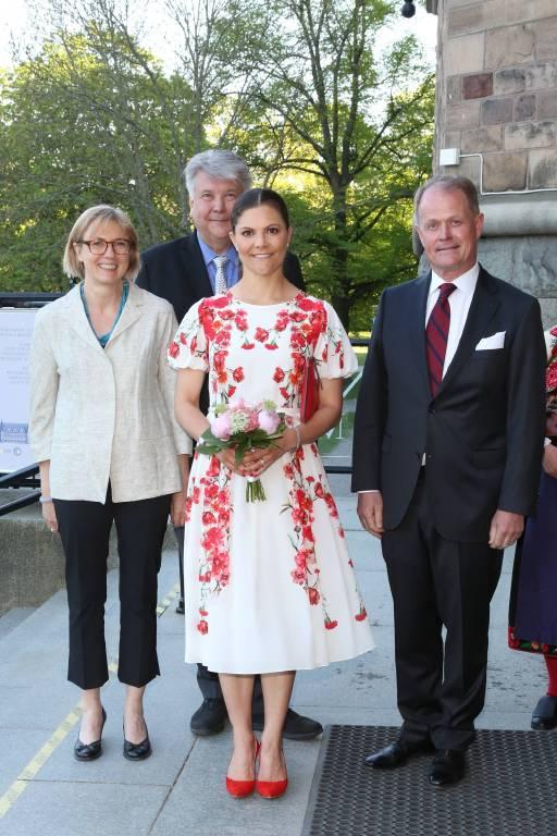 Die Schwedin besuchte in Stockholm das Nordic Museum.  ©imago/E-PRESS PHOTO.com