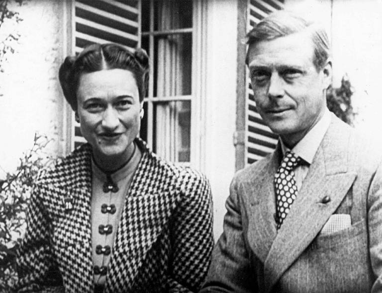 Wallis Simpson und Herzog Edward, Onkel von Queen Elizabeth.  ©imago/ZUMA Press