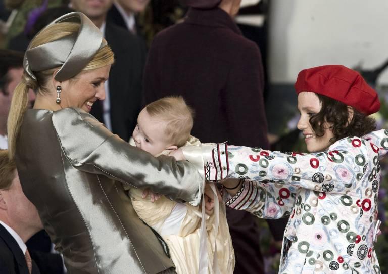 Inés Zorreguieta (r.) war die Schwester von Königin Maxima und die Patentante von Prinzessin Ariane.  ©imago/Hollandse Hoogte