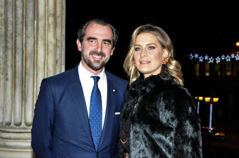 Prinz Nikolaos und Prinzessin Tatiana sind das Traumpaar der griechischen Royals.  ©imago/ZUMA Press