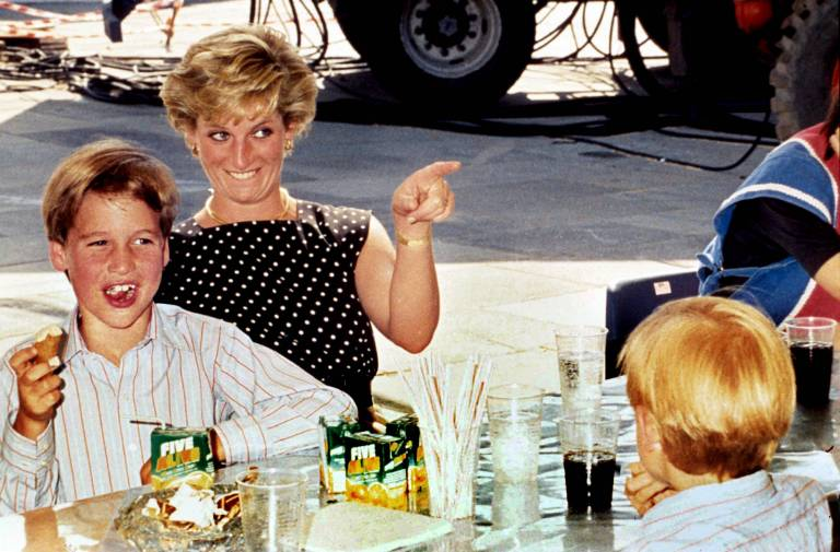 Prinzessin Diana gab ihrem Sohn Prinz William einen tierischen Kosenamen.  ©imago/LFI