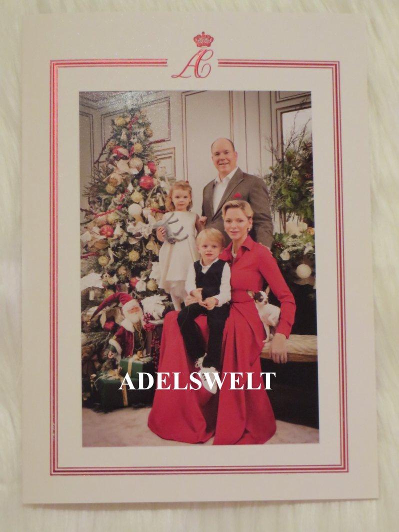 Die Weihnachtskarte von Fürstin Charlène und Fürst Albert von Monaco mit ihren Zwillingen Jacques und Gabriella sorgt bei den Fans für Begeisterung.  ©Mit freundlicher Erlaubnis von  royal_replies_by_kris