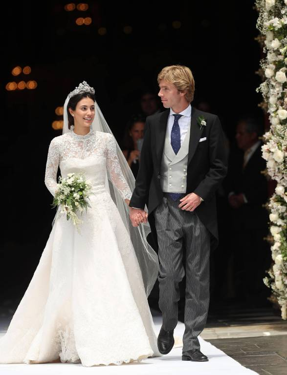 Prinz Christian von Hannover heiratete das wunderschöne Model Alessandra de Osma. Das Paar lebt in Madrid.  ©imago/Agencia EFE